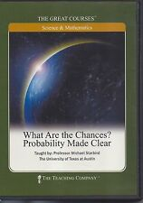 What are the Chances? Probability Made Clear -GREAT COURSES 2 DVDs