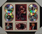 KURT COBAIN 4CD SIGNED FRAMED MEMORABILIA LIMITED EDITION