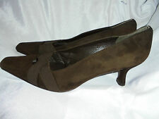 STUART WEITZMAN FOR RUSSELL & BROMLEY SUEDE LEATHER SHOES  SIZE UK 5.5 US 8 VGC