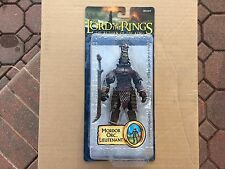 Lord Of The Rings Mordor Orc Lieutenant Figure Toy Biz New Sealed 2005 ROTK