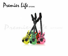 Inflatable Neon Guitars (1 Assorted color)