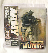 Mcfarlane Military Series 5 ARMY SPECIAL FORCES OPERATOR Caucasian (masked) 2007