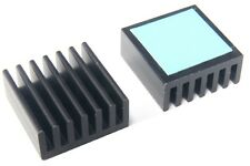 25x25mm Chipset IC SMD Heat-Sink fin LED VGA chip RAM MEMORY COOLER ALLUMINIO