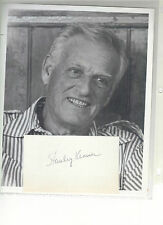 STANLEY KRAMER          signature with 8x10 photo of famous Producer & Director