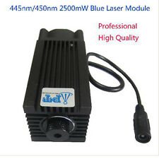 445nm 450nm 2500mW 2.5W Blue Laser Module for DIY CNC Cutter Engraving Engraver