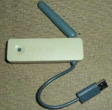 MICROSOFT XBOX 360 OFFICIAL WIRELESS G NETWORKING ADAPTER Genuine Network White