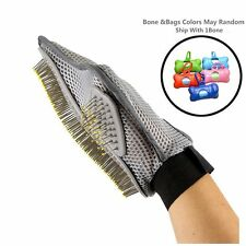Pet Grooming Glove Brush Deshedding Tool Hair Grooming of Dogs Bathing Brush