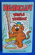 1983 HEATHCLIFF/TRIPLE THREAT by George Gately 11th Tempo Paperback VG