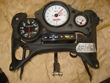 Aprilia AF1 50 Clock set 23k kph all working c/w trip, all wiring & bracket LC21