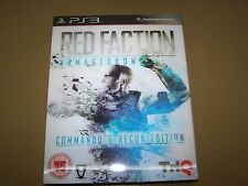 Red faction: armageddon (sony playstation 3, 2011) ** nouveau & sealed **