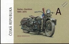 Harley davidson wla militaire moto wwii us army moto stamp (2015)