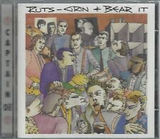 THE RUTS - GRIN & BEAR IT - (still sealed cd) - AHOY CD 261