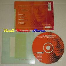 CD TIGRAM MANSURIAN An introduction to 1998 austria MEGADISC 7839(Xs6) dvd mc lp