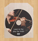 Learn how to play the Violin lessons DVD Fiddle video guide tutorial tuition
