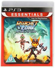 * PLAYSTATION 3 Essential NEW GAME RATCHET & CLANK - A Crack In Time PS3