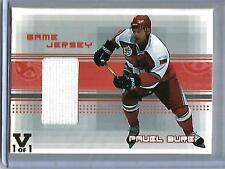 Pavel Bure 00/01 Be A Player All-Star Game Used Jersey #1/1
