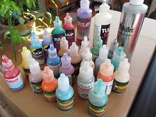 Lot of Tulip, Polymark, & Scribbles fabric paints
