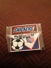 Snickers World Cup USA 1994 Soccer Cloth Patch Mint Condition