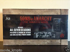 Sons of Anarchy: The Complete Series Giftset (Blu-ray Disc, 2015, 23-Disc Set)