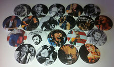 20 Bruce Springsteen badges 25mm E Street Band Little Steven Clarence Clemons