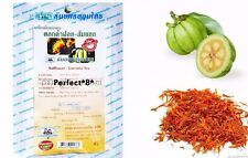 20 TEA BAGS GARCINIA CAMBOGIA WITH SAFFLOWER ORGANIC SLIMMING WEIGHT LOSS DIET