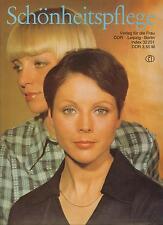 DDR Zeitschrift Schönheitspflege