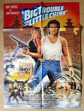 Filmposter * Kinoplakat * A1 - Big Trouble in little China *  JOHN CARPENTER