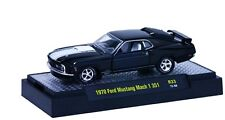 `70 Ford Mustang Mach I 351 Black/White 1970*** M2 Machines Deluxe BOX 1:64 OVP