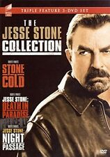 Stone Cold / Jesse Stone: Death In Paradise - 3 DISC SE (2016, REGION 1 DVD New)