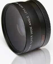 Close up Macro & Wide Angle Lens for Olympus E620 E610 E600 E520 E510 E500 E400