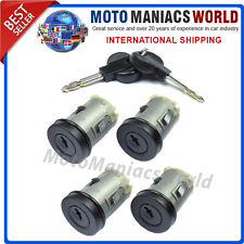 FIAT SCUDO CITROEN JUMPY PEUGEOT EXPERT 1994-2007 Door Lock Barrel LockSet 4 Pcs