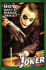 DARK KNIGHT - JOKER MAGIC TRICK POSTER - 24x36 - DC COMICS BATMAN MOVIE 160014