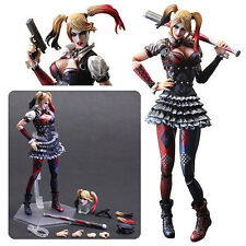 "Play Arts Kai ~ Batman Arkham Knight ~ No.4 HARLEY QUINN ~ 10""  Action Figure"