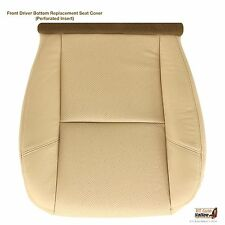 2009-2011 Cadillac Escalade EXT ESV -Driver Side Bottom Leather Seat Cover TAN