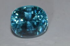 Beautiful 1.66ct IF NATURAL OVAL CUT CAMBODIAN BLUE ZIRCON