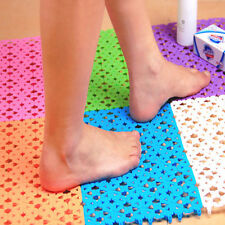 Durable Nice Plastic Non-slip Shower Bathroom Bath Mosaic Mat cool