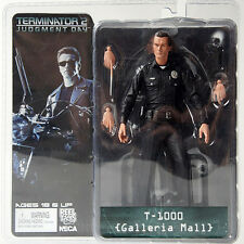 "NECA toys Terminator 2 S3 Series 3 T-1000 Galleria Mall 7"" Action Figure Hot"