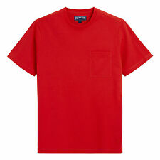 $80 VILEBREQUIN CLASSIC POCKET TEE SHORT SLEEVE T-SHIRT RED MEN'S XL EXTRA LARGE