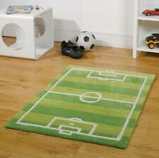 Football Pitch Kids / Childrens Play Rug 70x100cm