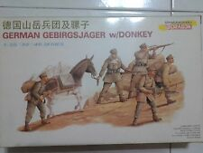1/35 DRAGON GERMAN MOUNTAIN TROOPS WITH DONKEY