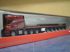 Herpa camiones MB actros 11 giga SLT ballasttrailer-SZ paule