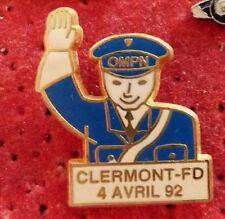 PIN'S GENDARMERIE OMPN CLERMONT FERRAND 92 ZAMAC