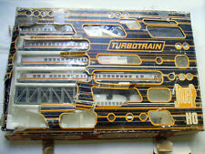 TRAIN JOUEF - COFFRET 7844 - TURBOTRAIN PRESTIGE - 5 éléments rails flexibles