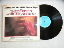 "LP ARTHUR FIEDLER AND THE BOSTON POPS ""Play Beatles' Greatest Hits"" RCA CAMDEN µ"