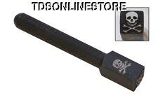 Large Elite Metal Design Stamp 10mm Skull & Crossbones