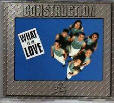 (AM996) Construction, What Is In Love - 1996 CD