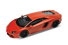 "Welly Lamborghini Aventador LP700-4 1:24 scale 8"" diecast model Orange W216"