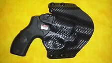 HOLSTER BLACK CARBON KYDEX SMITH & WESSON S&W BODYGUARD W LASER 38 Special