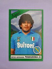 FIGURINA PANINI CALCIATORI FOOTBALL STICKERS MARADONA NAPOLI 1987-88 NEW-FIO