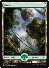 2x 2 x Forest 271 - Full Art BASIC LAND - Mint MTG Battle for Zendikar